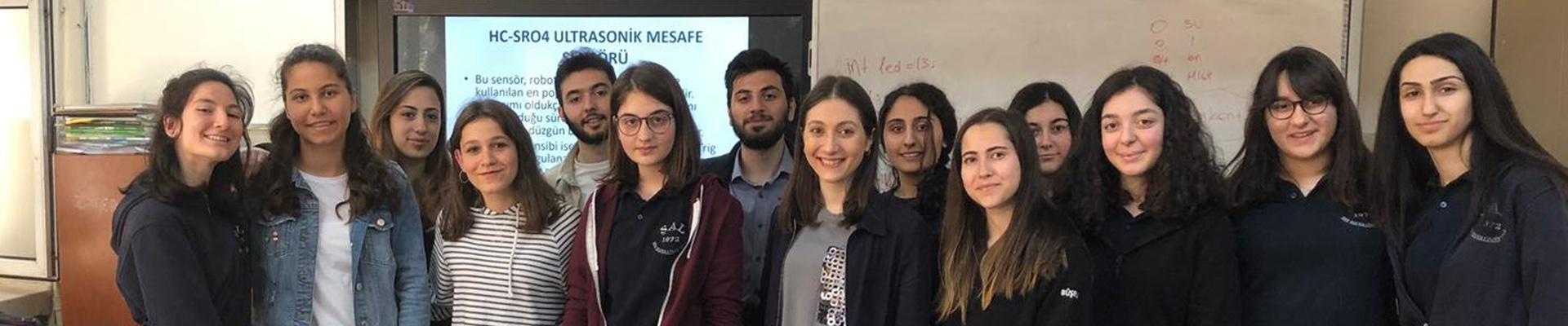 IEEE Kulübümüzden Liseli Kız Öğrencilere Özel Eğitim