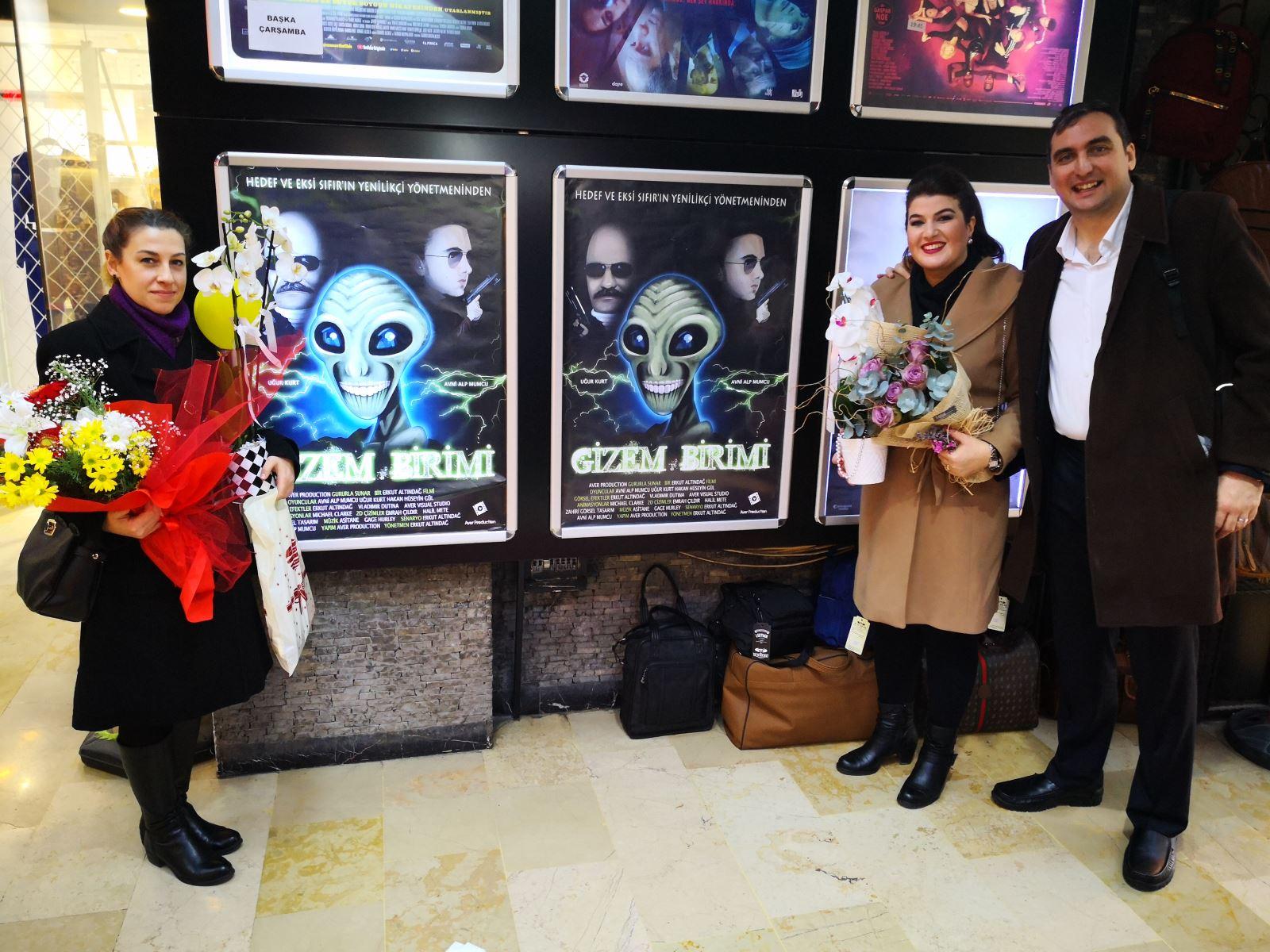 Doç. Dr. Erkut Altındağ'ın 2. Uzun Metrajlı Amatör Filmi 'Gizem Birimi'nin Galası Gerçekleştirildi 3
