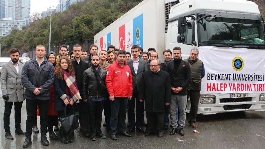 Öğrencilerimiz Türk Kızılayı'nın Halep Yardım Kampanyası için Seferber Oldu